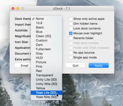 cDock-3D-Dock-Mac